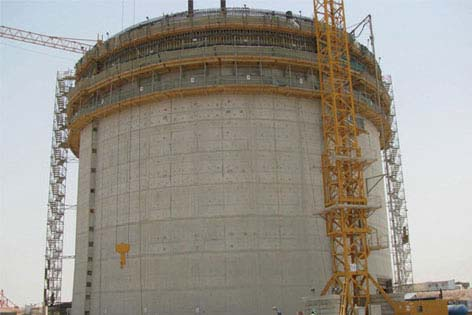 Propylene Storage Tank, Borouge II  Ruwais, UAE