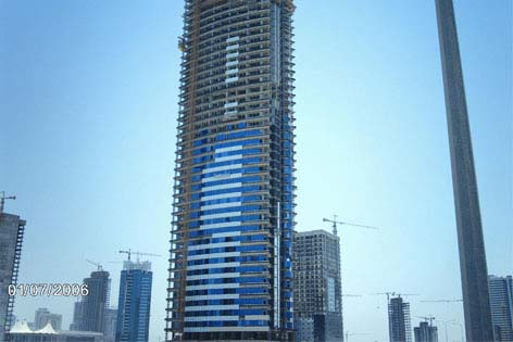 47 Floors West Bay Residential Tower Qatar
